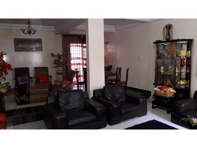 A louer appartement meublé propre de 2 chambres avec petit jardin au ...