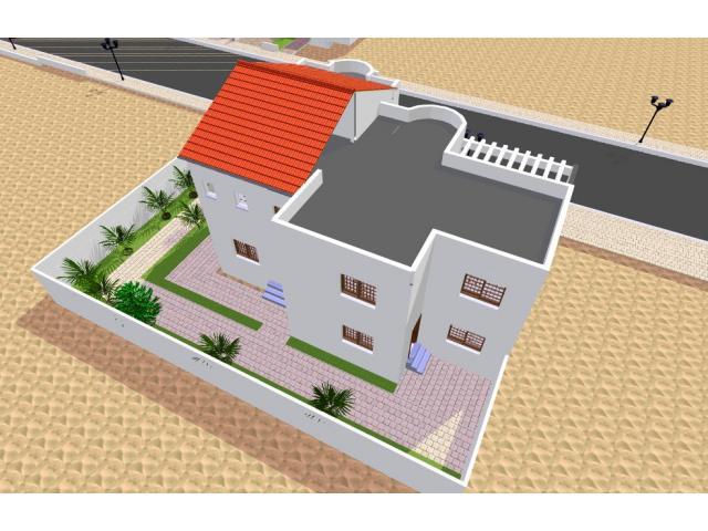 Terrains maisons avendre au senegal dakar waxal com for Plan maison 150m2 senegal